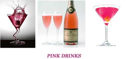 Pin Pup Pawty Pink Drinks