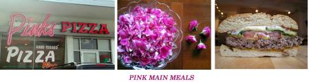 Delicous Pink Main Meals for our Pink Pups Pawty