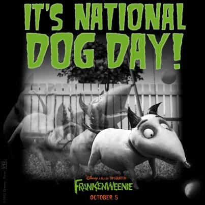 Frankenweenie Movie - It's National Dog Day!