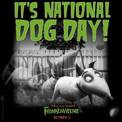 Frankenweenie Movie - It's National Dog Day!